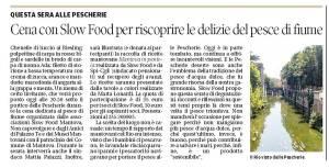 Gazzetta di Mantova - articolo SlowFood