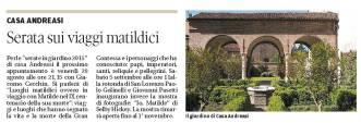 Gazzetta di Mantova - 27 agosto 2015