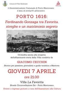 Locandina Porto 1616 La Favorita