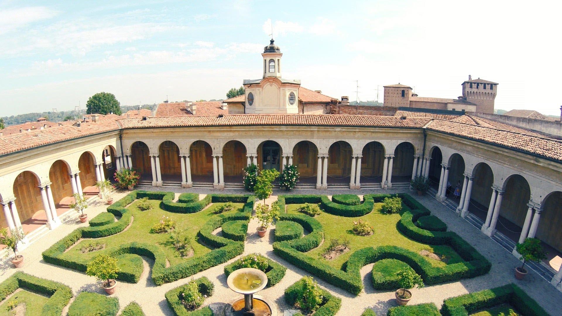 Mantova2017 5 stranezze da non perdere a palazzo ducale - Giardino pensile ...