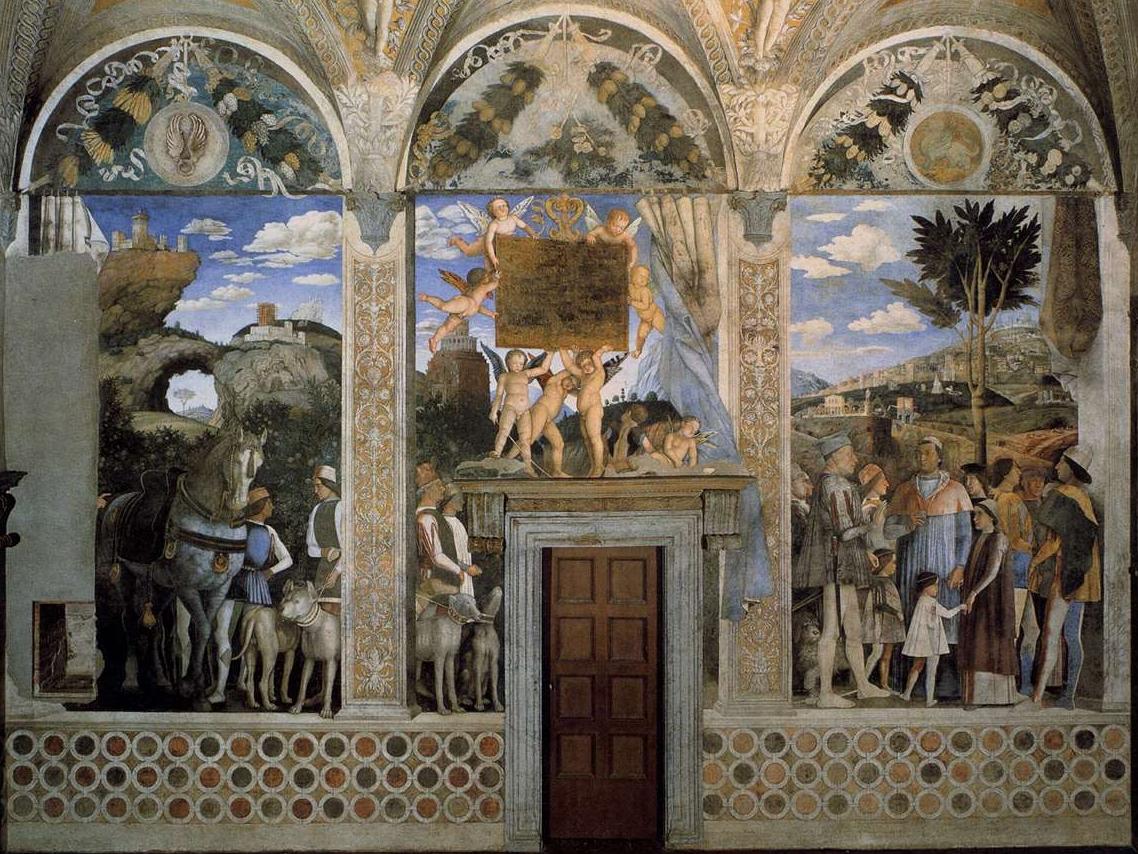 La fedelt una virt 5 cani da osservare nella camera for La camera degli sposi di andrea mantegna