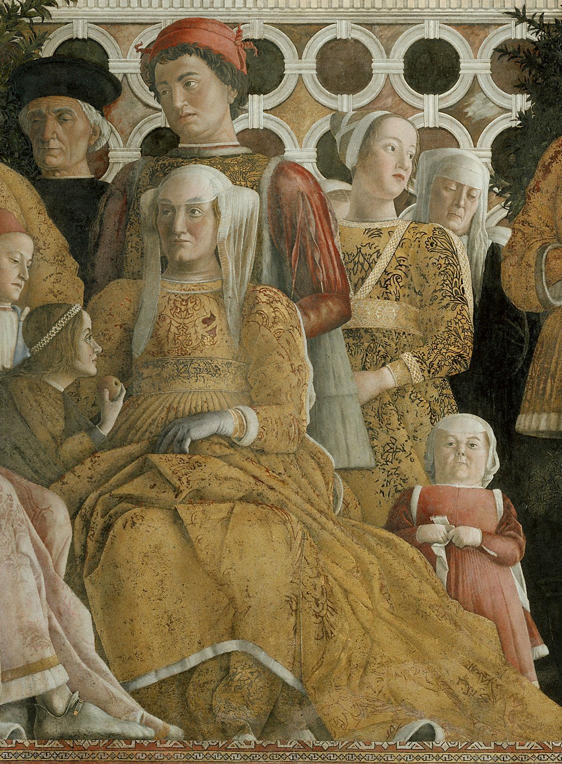 5 donne da osservare nella camera degli sposi tra marchese for Design della camera degli ospiti